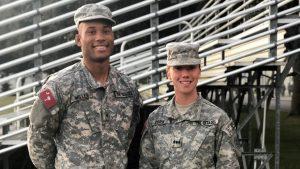 Cadets Logan Miller and Sarah Zorn, The Citadel
