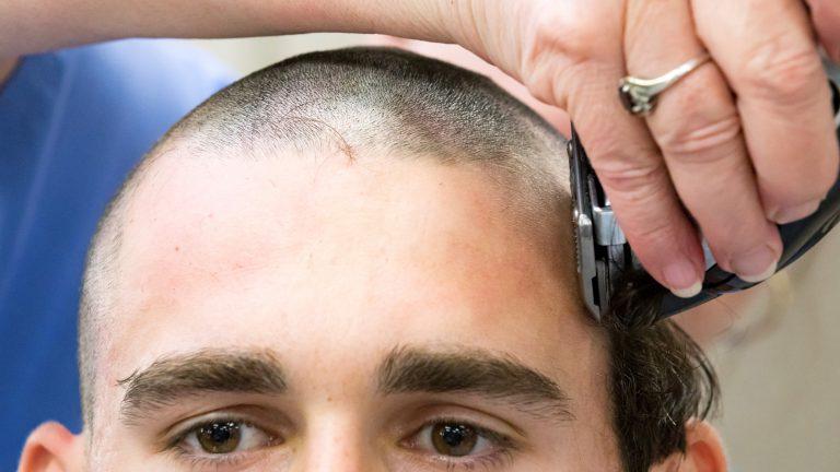 The Citadel Haircut