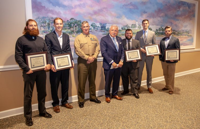 Tommy Baker Veterans Fellowship Award recipients, 2018-19
