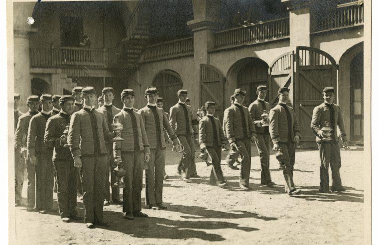 Lamp Squad, ca. 1900
