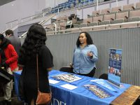 Photo of Citadel admissions officer Teisha Neits, by Ameera Steward