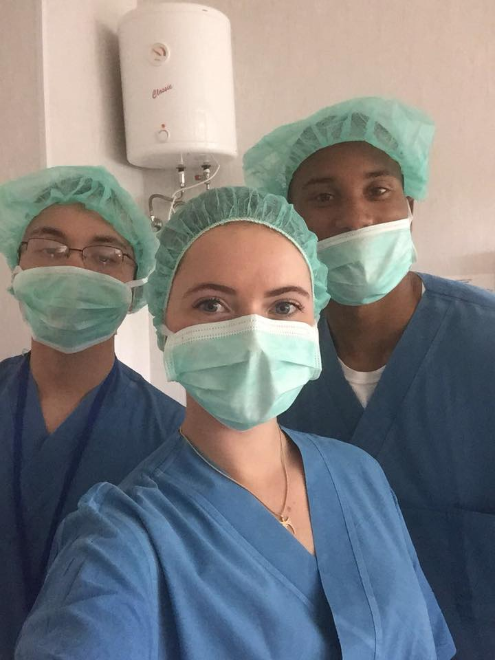 Citadel healthcare study abroad cadets in Lithuania