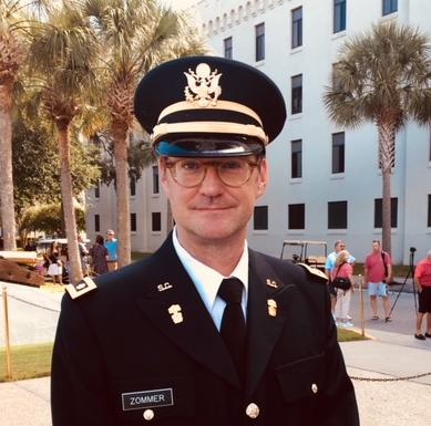 Prof. Matthew Zommer, The Citadel