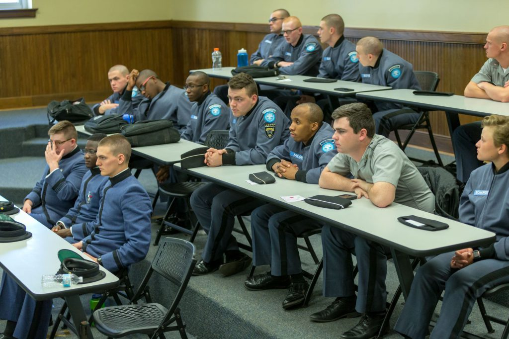 Cadets particiate in 2018 Principaled Leadership Symposium