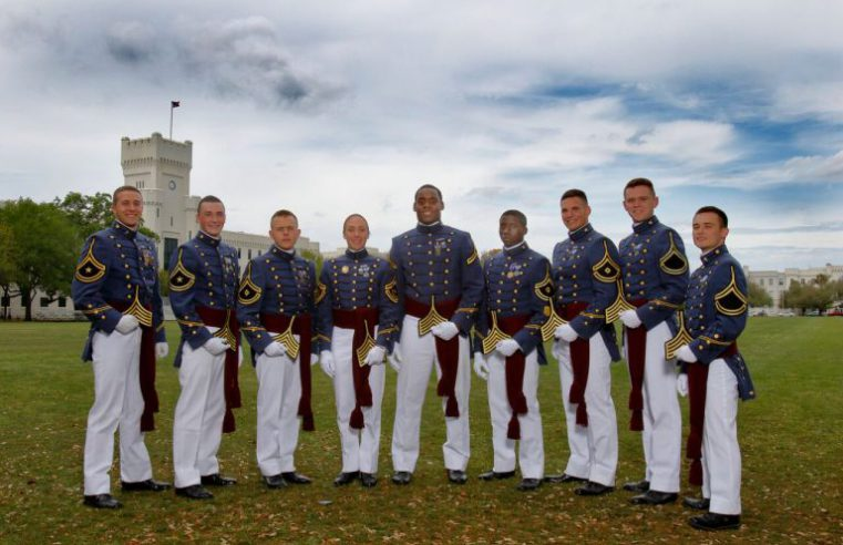 South Carolina Corps of Cadets 2018-19 Regimental Officers