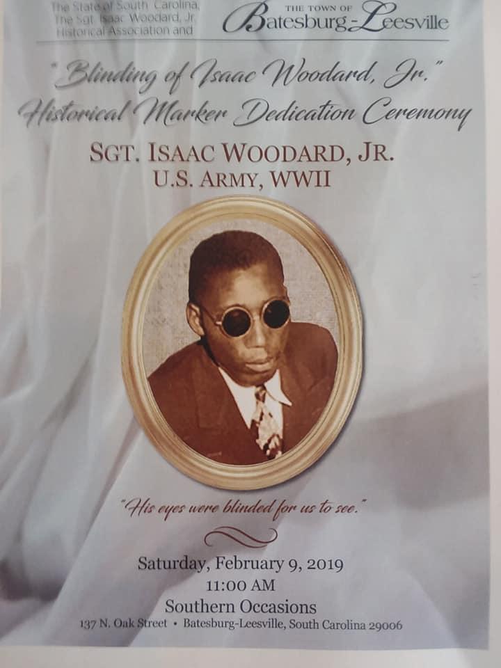 Isaac Woodard Dedication Ceremony
