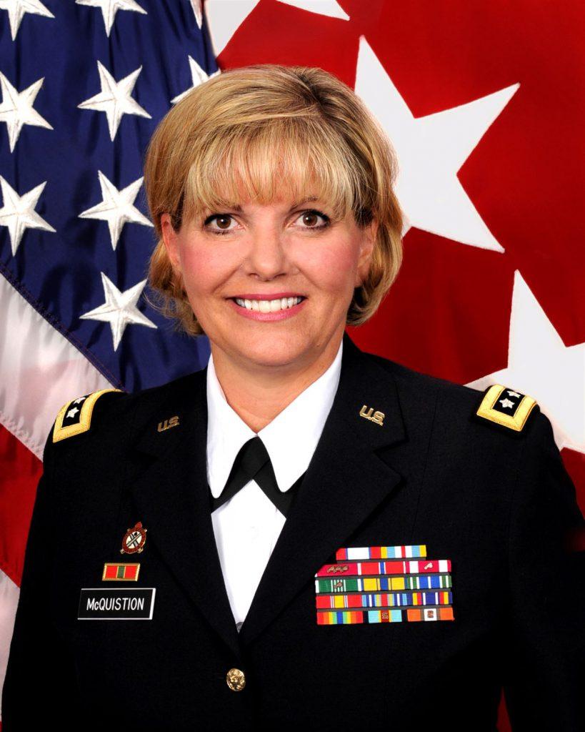 Lt. Gen Patricia McQuistion, U.S. Army, (Ret.)