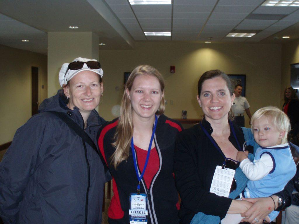 Petra Lovetinska Seipel, Holly Irvine and Nancy Mace