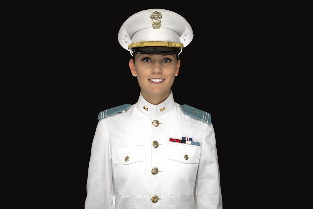 Cadet Brandi Duzz featured in airport campaign