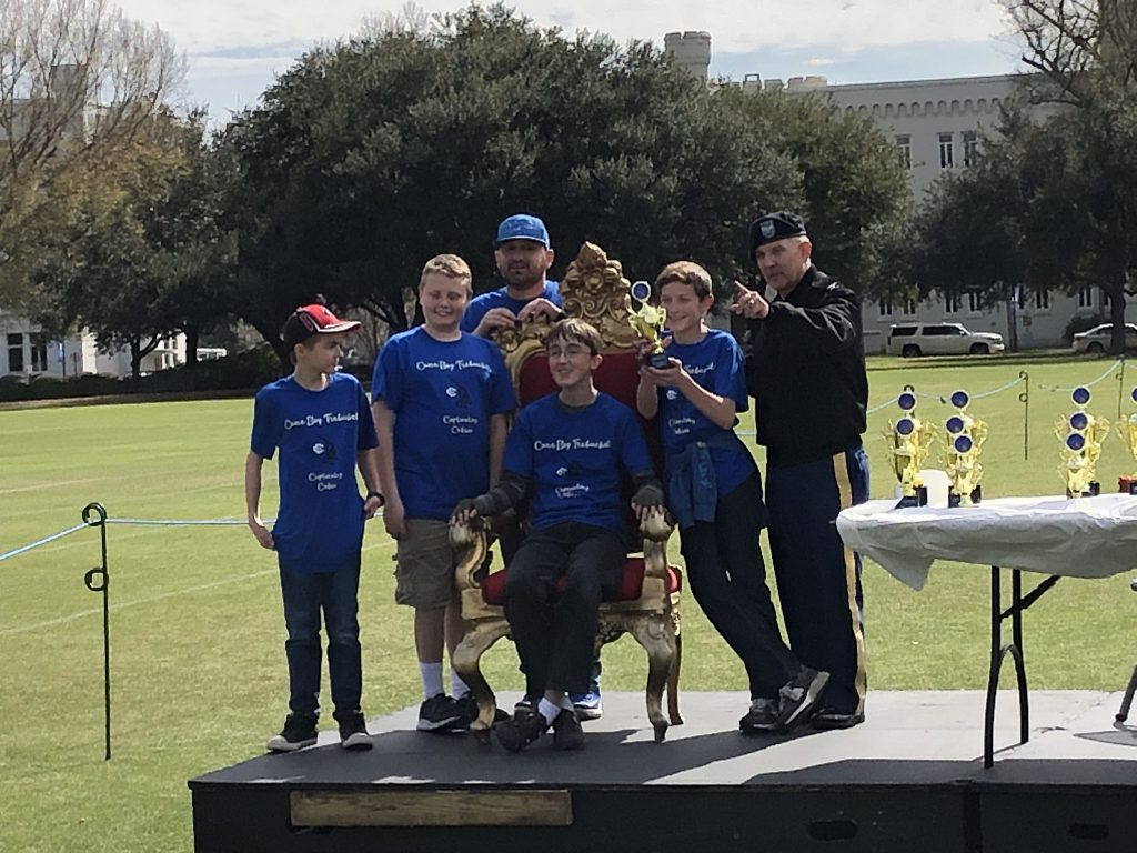 Cane Bay Middle School accepting Distance Award