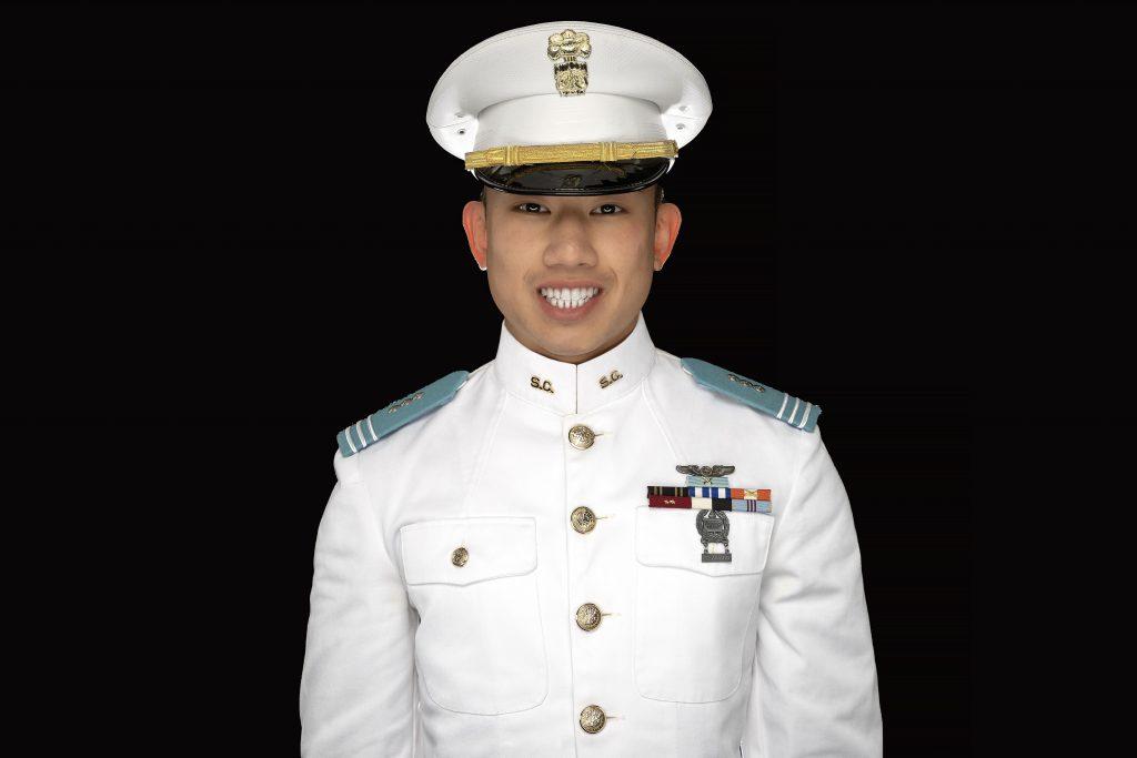 Cadet Tai Lum featured in airport campaign