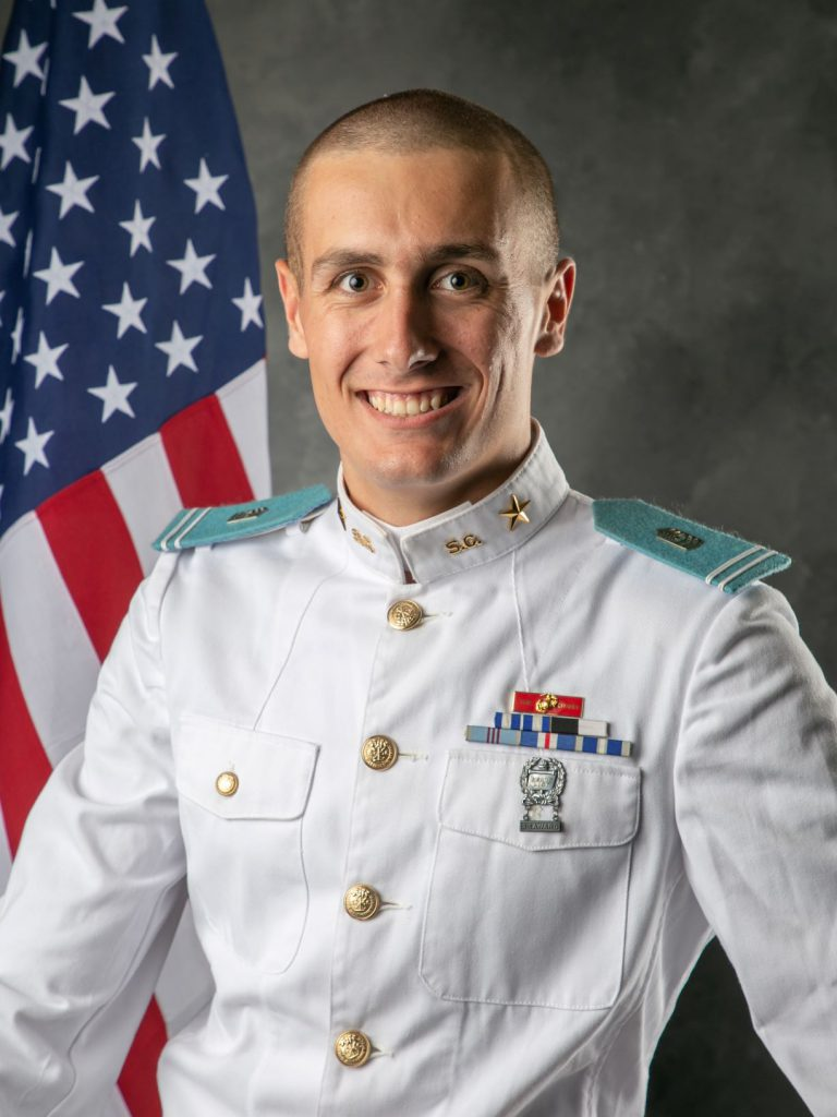 Adam Niehoff, 2019-2020 4th Battalion Commander