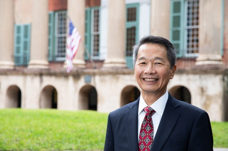 Andrew Hsu, Ph.D., president-designate of the College of Charleston