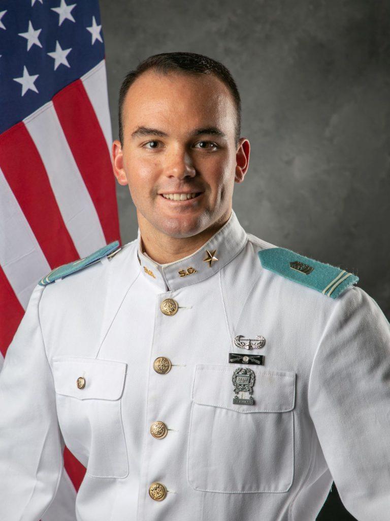 Brennen Zeigler, 2019-2020 Deputy Regimental Commander