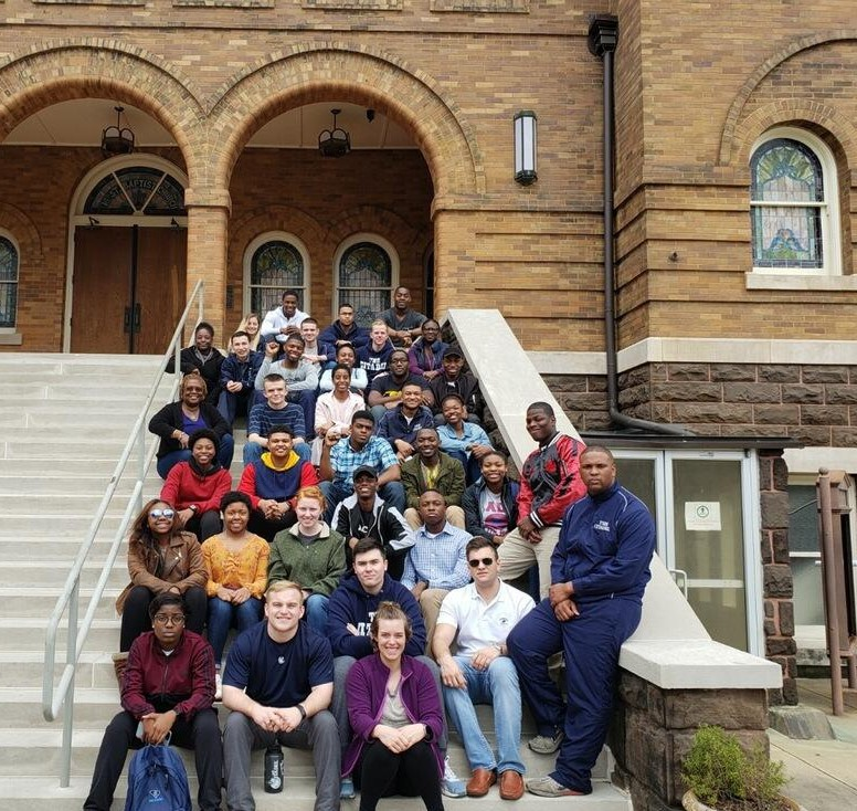Cadets at 16th Street Baptist Church