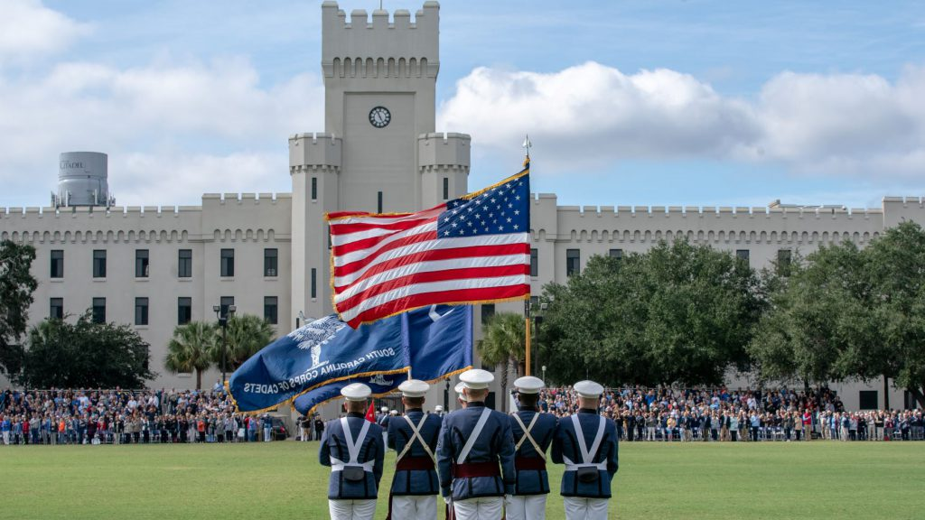 4be8dd5bd The new faces of cadet leadership at The Citadel for the Class of ...