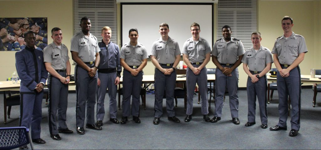 Cadets involved with tri-partisan debate