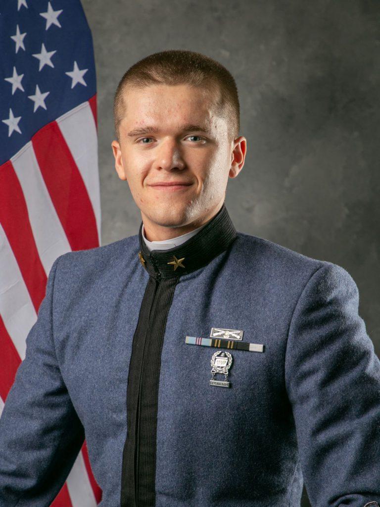 Carson Adams, Sergeant Major