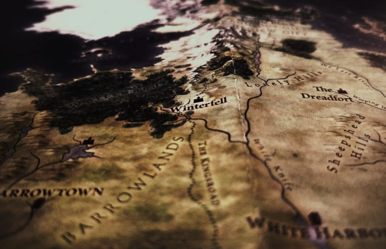 Game of Thrones map Winterfell