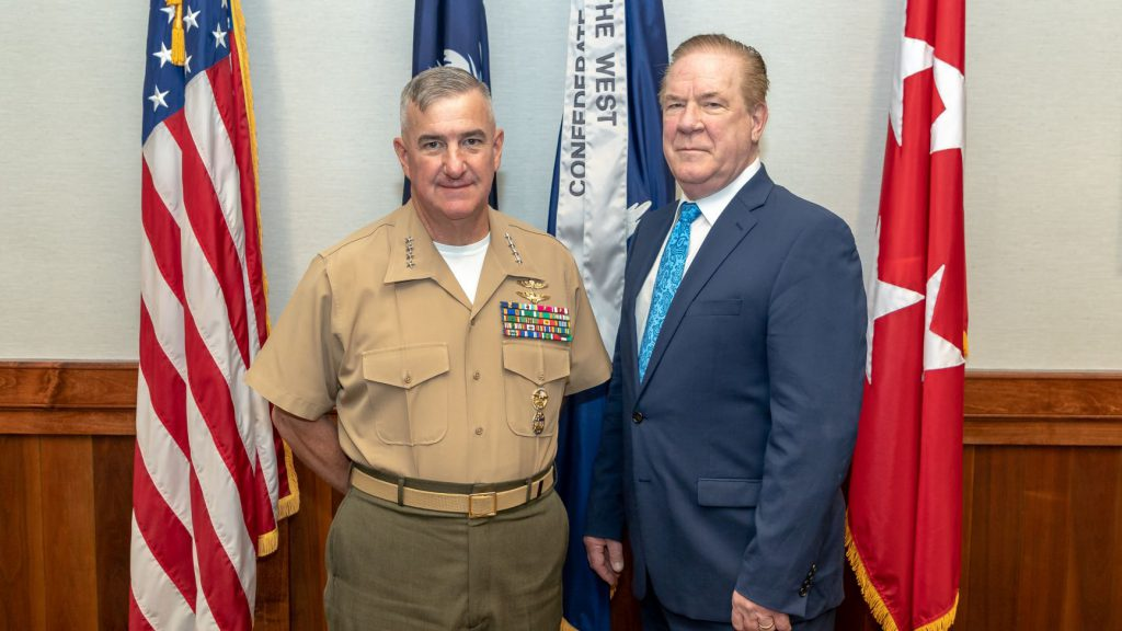Gen. Glenn Walters and Michael Hawes, Ph.D.