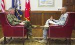 Gen.GlennWaltersandCadetLoganMiller