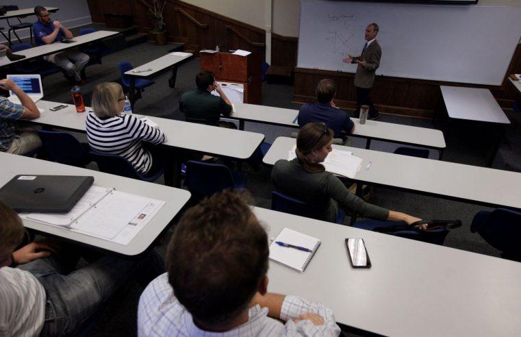MBA classroom