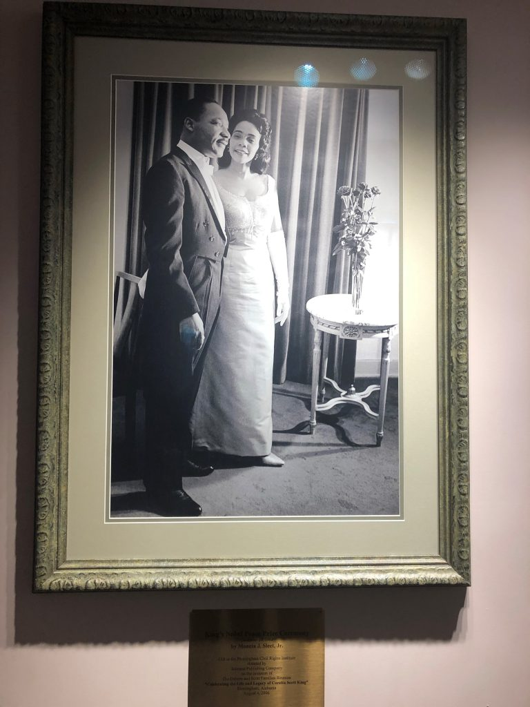 Photo of Martin Luther and Coretta Scott King