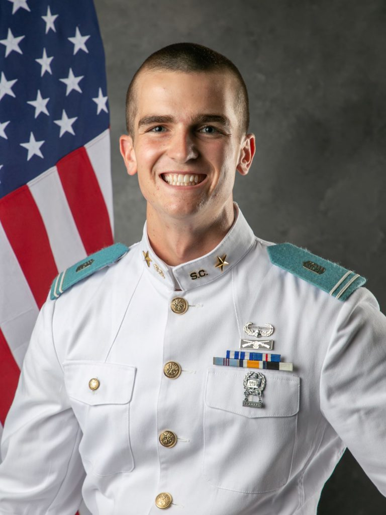 Richard Snyder, 2019-2020 Regimental Commander