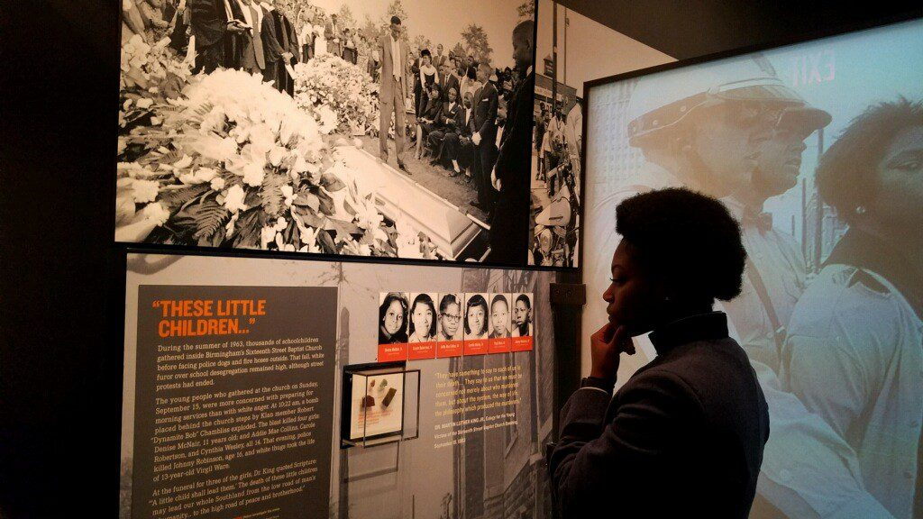 Ruby Bolden in National Civil Rights Museum
