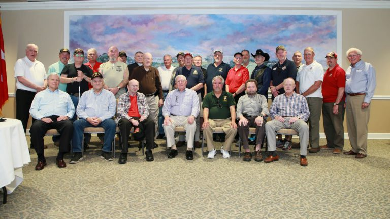 Vietnam veterans group photo