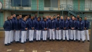 Cadets on Civil Rights tour outside of Lorraine Motel