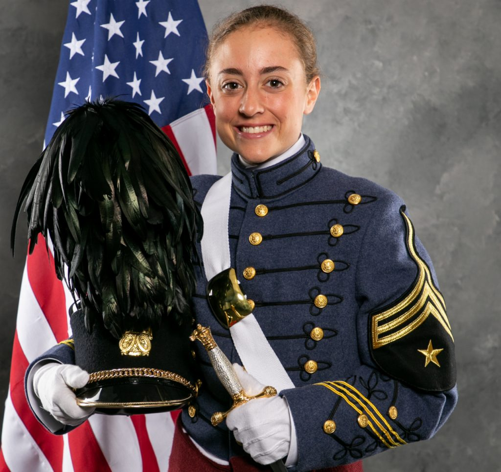 Cadet Alexis Edwards, The Citadel Class of 2019