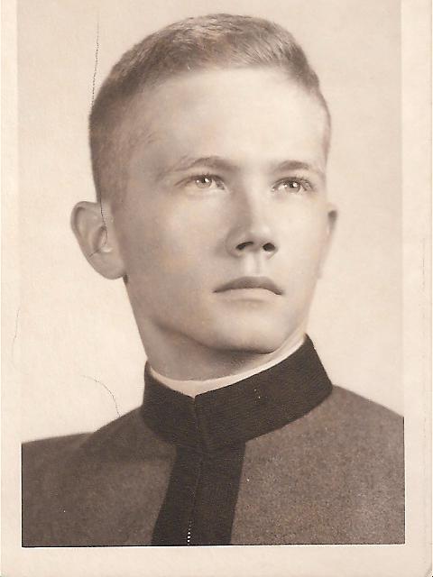 Cadet Frank Barron 1962