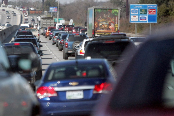 Charleston, South Carolina, traffic gridlock