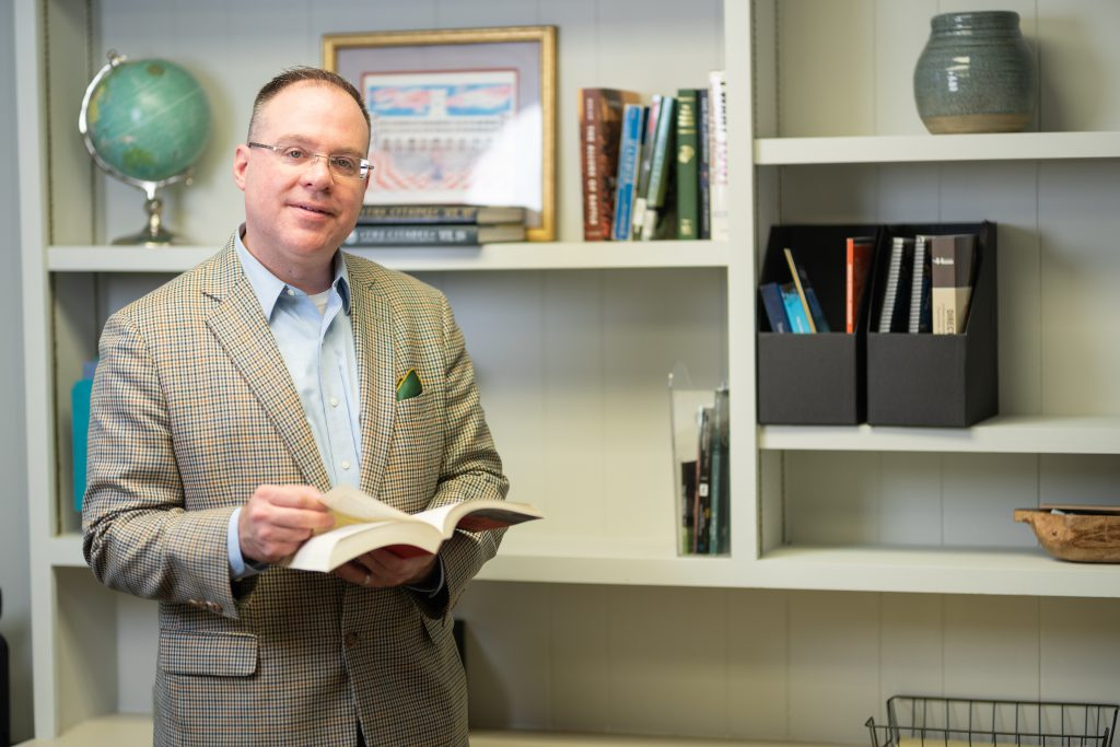 Dr. David Preston, Director of The Citadel Military History graduate program
