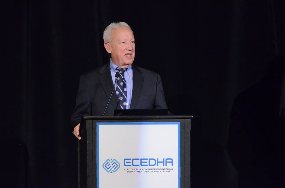 Peeples speaking at ECEDHA