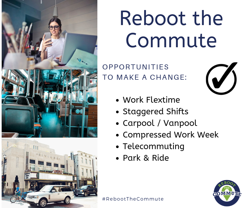 Reboot The Commute - Make a change