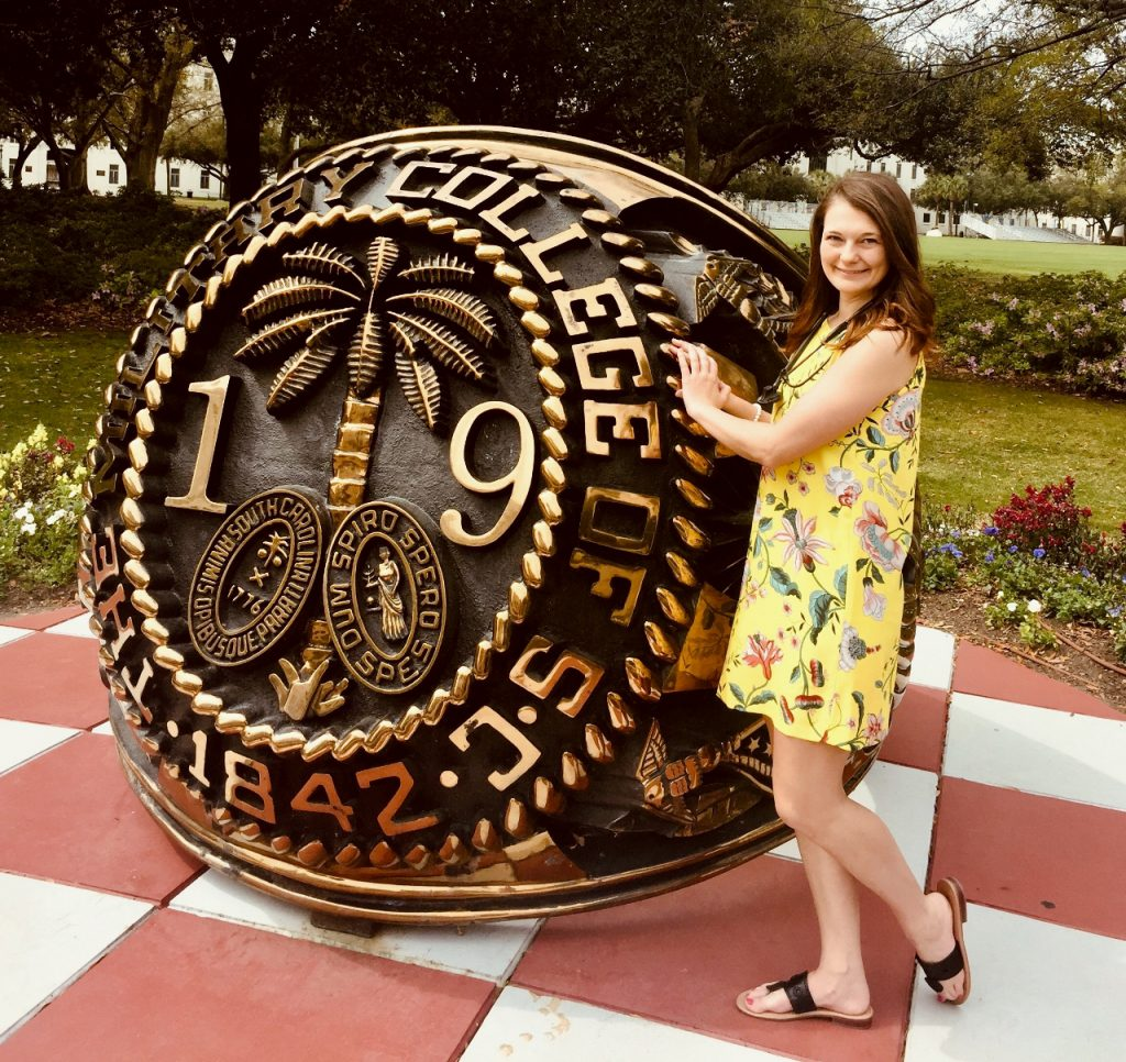 Samantha Lisek, Citadel Class of 2019, nursing graduate