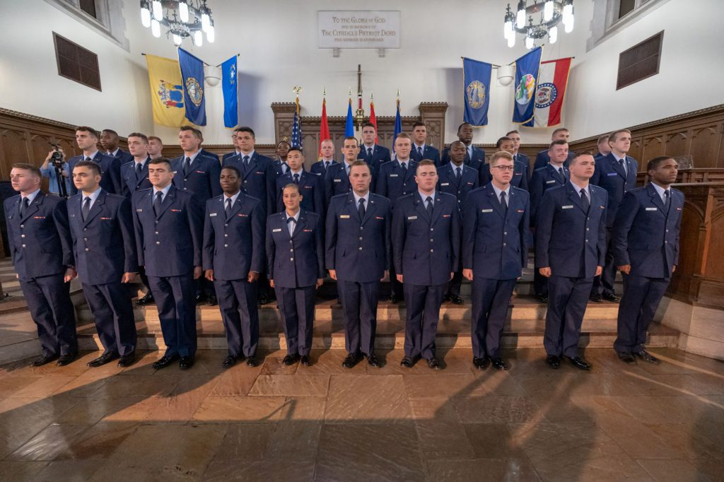 Air Force commissioning ceremony 2019