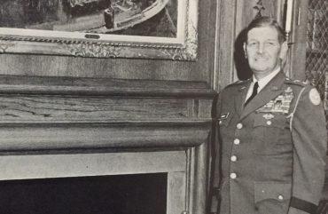 Maj. Gen. Reuben H. Tucker, The Citadel Commandant of Cadets, as photographed in 1968