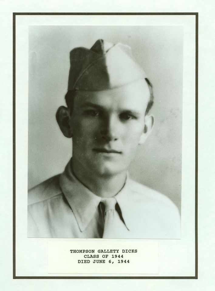 Thompson Gallety Dicks, Citadel Class of 1944