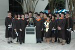 Gradutes of the Master's in Project Management program after Commencement Ceremonies
