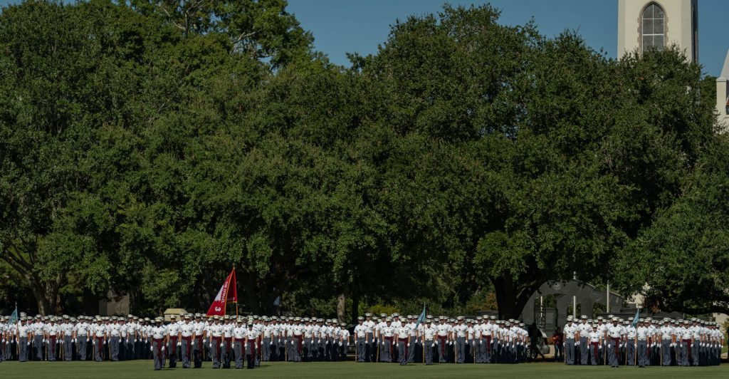 Awards Parade, Fall 2018