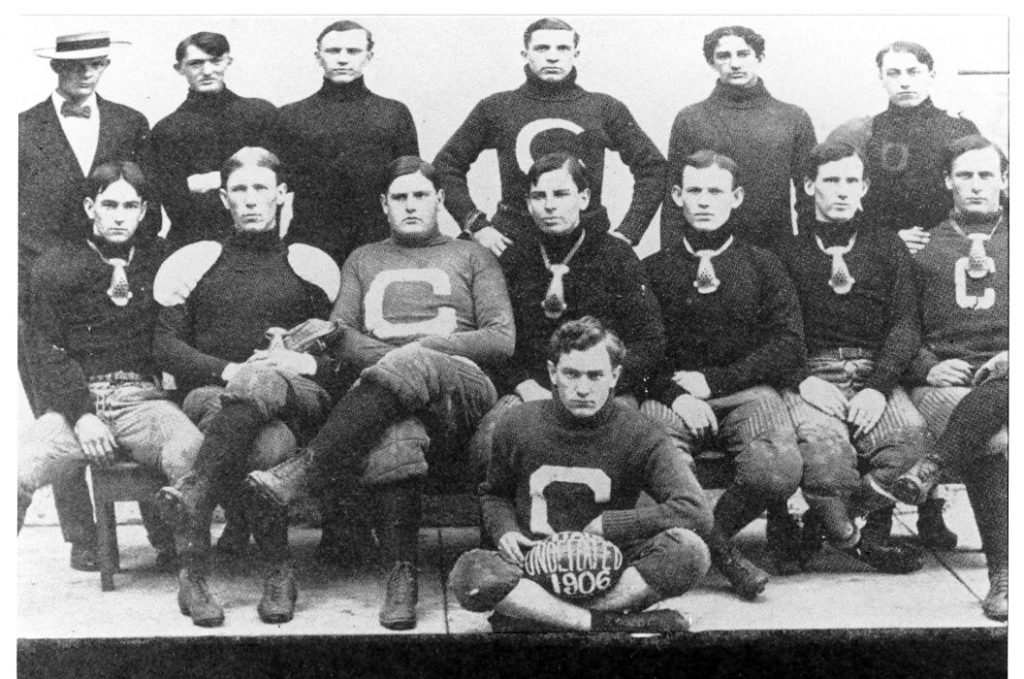 The Citadel football team, 1906