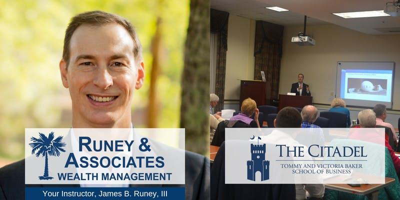 James Runey III retirement workshop