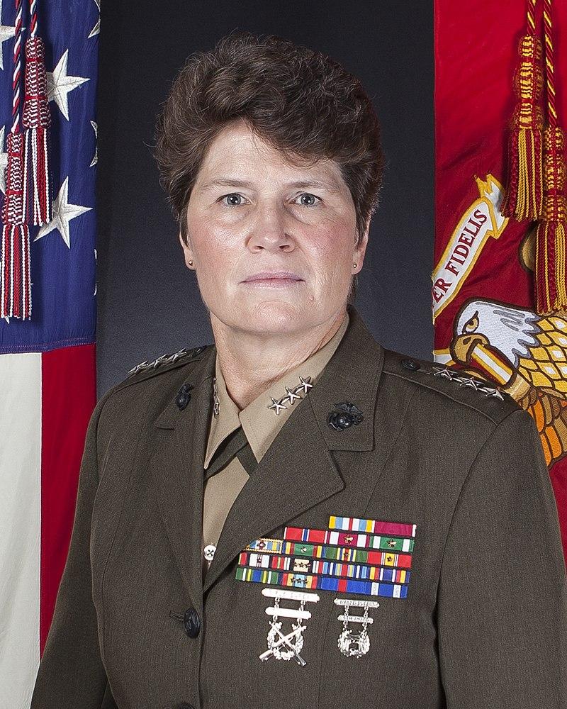U.S. Marine Corps Lt. Gen. Loretta Reynolds