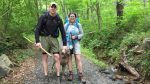 Lt. Matthew Kraft is seen here hiking with his mother, Roxanne Kraft in Virginia. (Courtesy: the Kraft family)