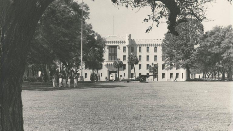 Original Law Barracks, Citadel Archives