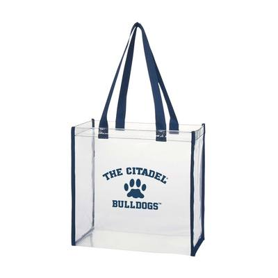 The Citadel Bulldogs clear stadium bag