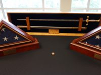 Fritz Hollings's ring, sword and flags donated to The Citadel Museum